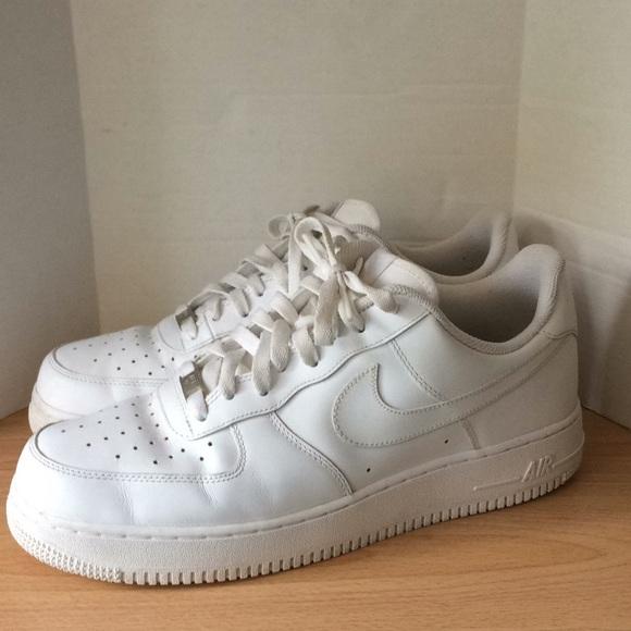 Nike Air Force 1 AF1 '07 White Men's Size 11.5